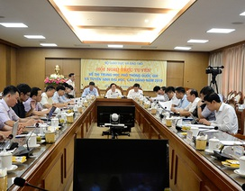 Lãnh đạo tỉnh Hoà Bình, Hà Giang, Sơn La hứa quyết tâm tổ chức tốt kỳ thi