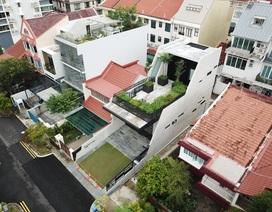 """Mất 7 năm cải tạo mới xong, căn nhà """"ruộng bậc thang"""" lột xác đẹp đến khó tin"""