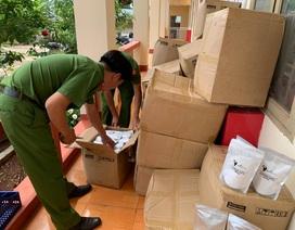 Phát hiện xe vận chuyển trên 2.000 gói mỹ phẩm trắng da không rõ nguồn gốc