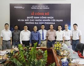 Một trường đại học tư công bố thành lập 8 nhóm nghiên cứu mạnh