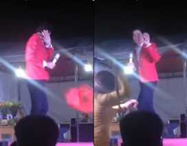 Nghệ sĩ Việt bị ném ghế, tạt nước, giang hồ đuổi đánh khi hát hội chợ