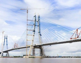 Sửa chữa xong sự cố nứt cầu Vàm Cống, dự kiến thông xe trong tháng 5