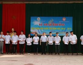 Hội Khuyến học tỉnh Nghệ An khen thưởng 140 giáo viên, học sinh trường Phan