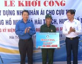 Quảng Bình: Khởi công xây dựng nhà nhân ái cho cựu TNXP đường Trường Sơn