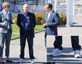 Đôi giày thời thượng gây chú ý của Tổng thống Putin