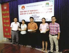 Đà Nẵng: Trao 900 vé tham quan khu vui chơi cho học sinh tiểu học nhân dịp 1/6