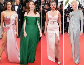 Những người đẹp thu hút mọi ánh nhìn trên thảm đỏ Cannes