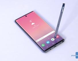 Galaxy Note10 sẽ có pin lớn nhất từ trước đến nay, thêm màu mới