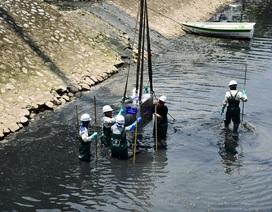 Cận cảnh công nghệ Nhật Bản làm sạch Hồ Tây và sông Tô Lịch