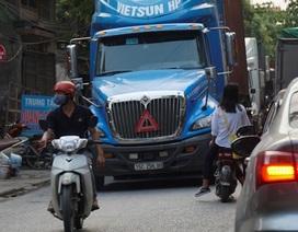 """Bắc Ninh: Người dân khổ sở vì hứng chịu xe tải """"né"""" trạm BOT"""