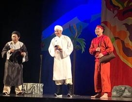 """Nhà thiết kế Sỹ Hoàng bất ngờ đóng Thái giám trong kịch """"Tấm Cám"""""""