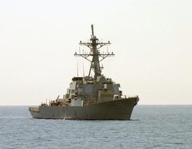 Hai tàu chiến Mỹ chở tên lửa hành trình tới vùng biển gần Iran