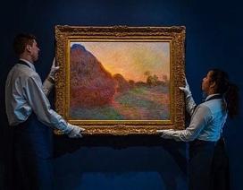 Bức tranh khắc họa đống rơm tăng giá 45 lần lên… 2.500 tỷ đồng