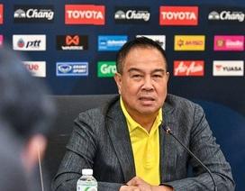 """""""Sếp"""" bóng đá Thái Lan: """"Đoàn kết sẽ đánh bại được đội tuyển Việt Nam"""""""