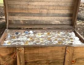 Công ty chôn kho báu đầy vàng, bạc trị giá 2,3 tỷ đồng để mọi người săn lùng