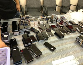 Hơn 400 điện thoại nhập trái phép vào Việt Nam bị phát hiện