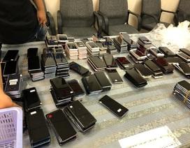 Hải quan sân bay bắt giữ lô hàng điện thoại cũ trị giá 3 tỷ đồng