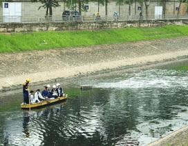 Cận cảnh đoạn sông Tô Lịch sau 3 ngày dùng công nghệ Nhật