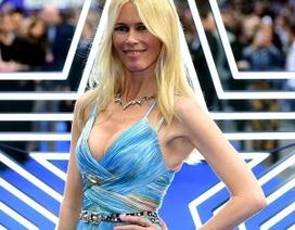 Claudia Schiffer vẫn trẻ đẹp ở tuổi 49