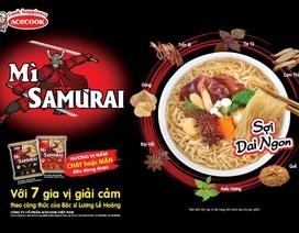 Mì Samưrai – bước đột phá mới của Acecook Việt Nam