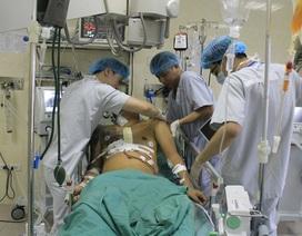 Nam thanh niên vỡ tim, phun máu xối xả vì vỡ túi khí sau tai nạn