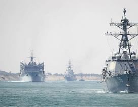 Hải quân Mỹ quá tải vì căng mình hoạt động ở nhiều điểm nóng
