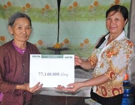 Bạn đọc Dân trí giúp đỡ cụ bà tuổi 80 đi nhặt phế liệu nuôi cả nhà số tiền hơn 77 triệu đồng