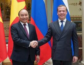 Thủ tướng: Việt-Nga có quan hệ anh em thân thiết, thuỷ chung!