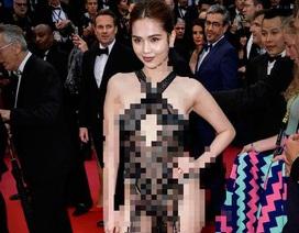 Ngọc Trinh và những mỹ nhân Việt mặc lố lăng tại Cannes: Hình thức xử phạt là gì?