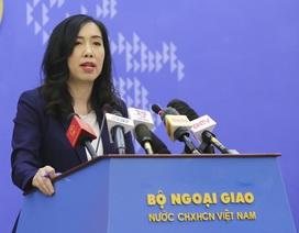 Việt Nam phản đối việc Trung Quốc tổ chức đua thuyền ở Hoàng Sa