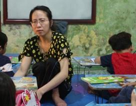 Lớp học đặc biệt của cô giáo khuyết tật