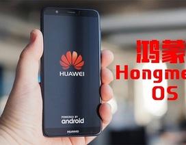 """Huawei đăng ký bản quyền hệ điều hành Hong Meng OS, sẵn sàng """"đấu"""" Android"""