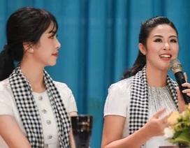 """Hoa hậu Ngọc Hân tiết lộ tuổi thơ từng bị """"ám ảnh"""" mỗi khi bố dạy Toán"""