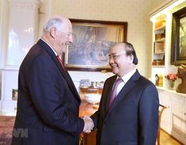 Thủ tướng Nguyễn Xuân Phúc hội kiến Nhà vua Na Uy