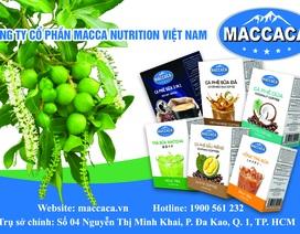 Trải nghiệm hương vị thức uống mới lạ cùng Maccaca