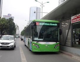 Hà Nội đưa cả 35 chiếc xe buýt nhanh vào vận hành