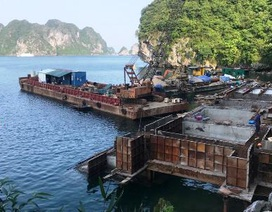 Bộ VH,TT&DL yêu cầu kiểm tra vi phạm vùng lõi di sản vịnh Hạ Long