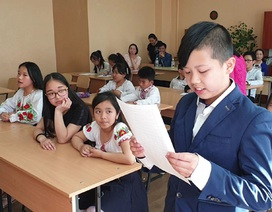 Cuộc thi Olympic tiếng Việt đầu tiên tại Kiev (Ukraine)