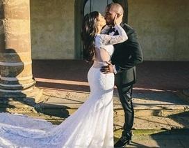 Ảnh cưới chưa từng công bố của Kim Kardashian