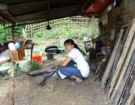 Dânsống trong lều tạm bợchờtái định cư