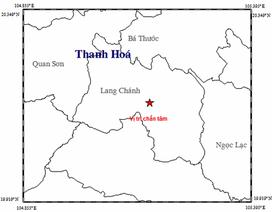 Xuất hiện động đất ở huyện miền núi Thanh Hóa