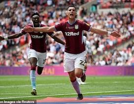 Thắng nghẹt thở trước Derby County, Aston Villa giành vé thăng hạng Premier League
