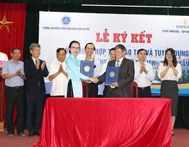 Trường CĐ Công nghệ Bách khoa Hà Nội hợp tác với doanh nghiệp đào tạo, tuyển dụng sinh viên