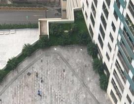 Người đàn ông rơi từ tầng 22 trung tâm thương mại xuống đất tử vong