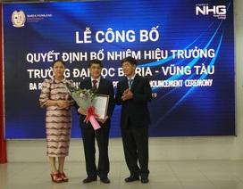 Trường Đại học Bà Rịa - Vũng Tàu (BVU) có hiệu trưởng mới