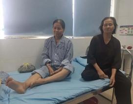 Phó Chủ tịch phường bị tố đạp gãy chân một phụ nữ