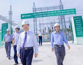 Chính thức vận hành thương mại Nhà máy điện mặt trời Sông Lũy 1