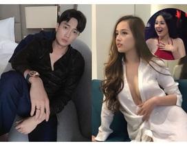 """Mai Phương Thuý gây xôn xao vì """"thả thính"""" diễn viên nhà 35 tỷ, cân nặng """"phát tướng"""""""