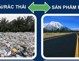 MR6: Bê tông thảm đường từ rác nhựa thải