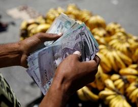 Venezuela công bố chỉ số siêu lạm phát giữa lúc khủng hoảng